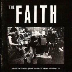 VOID / THE FAITH - Split LP