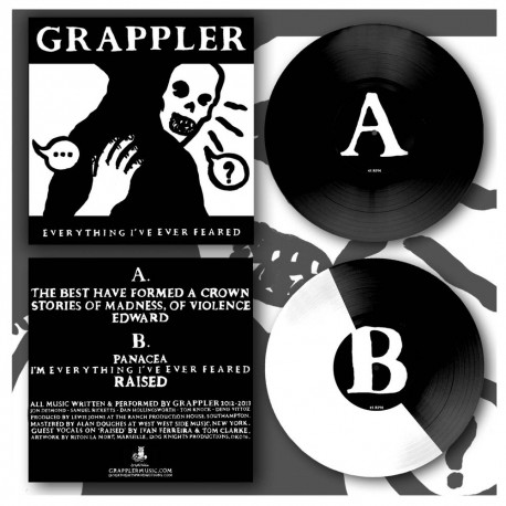 """GRAPPLER - Everything ' ve Ever Feared 12"""""""