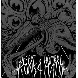 HOMBRE MALO / DESERT ICONS - Split LP