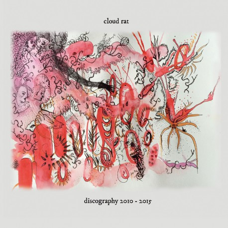 CLOUD RAT - Discography 2010-2015 2xCD