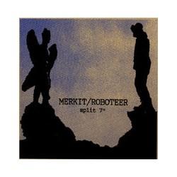 MERKIT / ROBOTEER - Split 7''