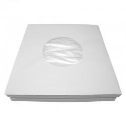 7' Poly-Lined Record Inner Sleeve / Gefütterte Innenhülle (white)