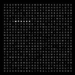 MÖRSER - V CD