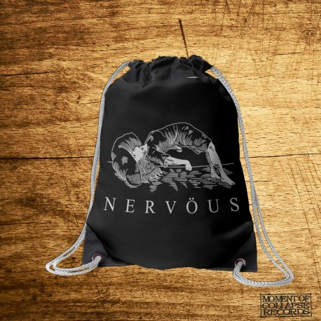 NERVÖUS - Woman GYMSAC (Black)